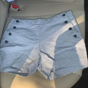"Banana Republic Size 2 shorts with 4"" inseam"